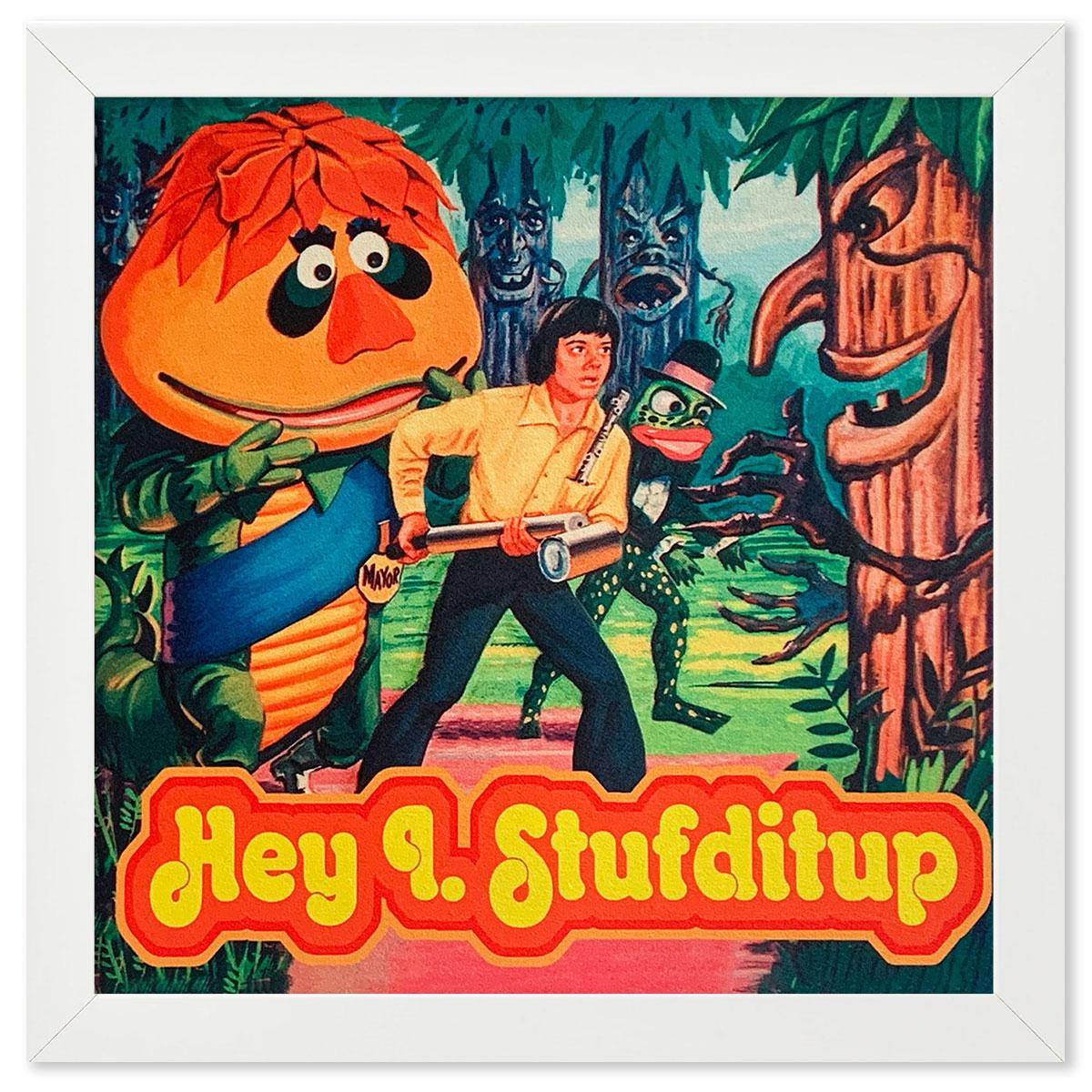 Hey I Stufditup - David Art Wales